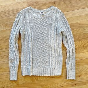 Old Navy Cable Knit Sweater